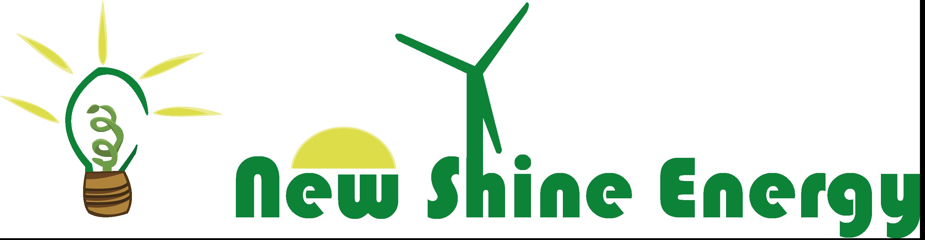 new shine energy logo