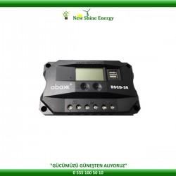 Abax BSCD 50 Amper 12 / 24 Volt LCD Ekran Şarj Kontrol Cihazı