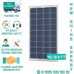Lexron 40 Watt Polikristal Solar Panel